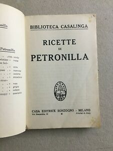 CUCINA_RICETTARIO_MINESTRE_PESCE_CARNE_VERDURE_DOLCI_LIQUORI_MARMELLATE_1946