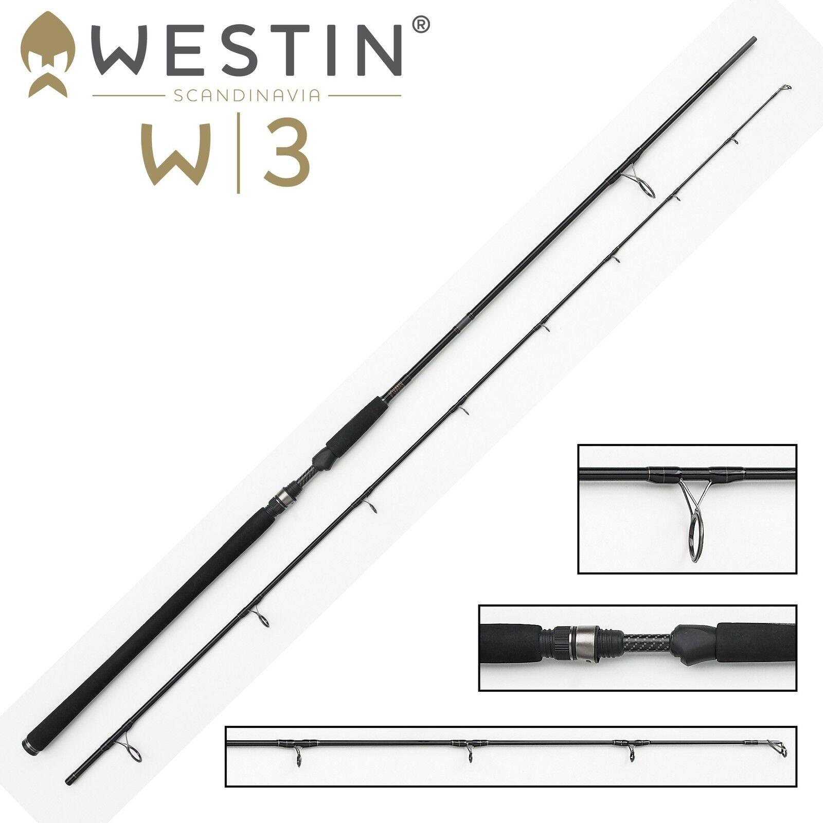 Westin W3 Powercast XXH 308cm 40-130g- Spinnrute, Hechtrute Hechtrute Hechtrute für Kunstköder bbe2e0