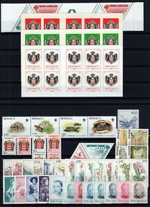 AC138662-MONACO-LOT-1986-2009-MINT-MNH-CV-148