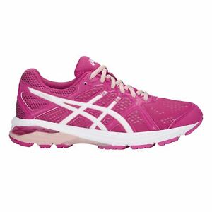 détaillant 1b5d9 ecd5f Details about Asics GT Xpress Running Shoes Ladies Road Laces Fastened Mesh  Upper