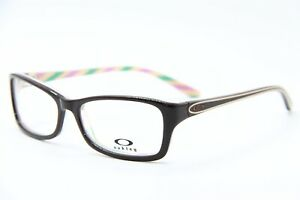 NEW-OAKLEY-OX1088-0253-BROWN-COSMO-SHORT-CUT-AUTHENTIC-EYEGLASSES-53-15