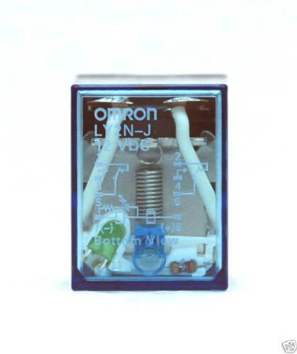 Bobine = 12VDC DC12V 12 V Double Pole Double Throw 10 A 1pc OMRON Relais LY2N-J LY2NJ LY2N LY2
