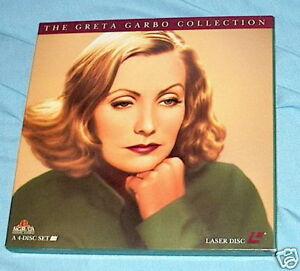 LD-laserdisc-GRETA-GARBO-COLLECTION-4-films-Box-Set
