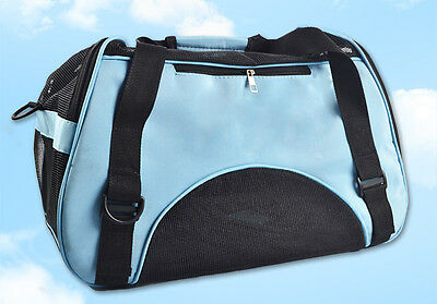 Large Size Car Safe Pet Cat Carrier Comfort Travel Tote Bag