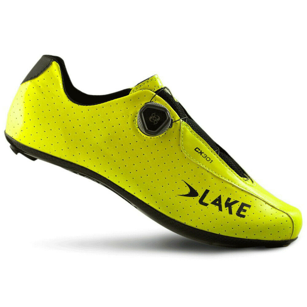 Lake CX301 Road shoes Yellow Fluo