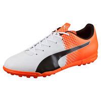 Men's Puma Evospeed 5.5 Tricks Turf Soccer Shoes, 103591 05 Sizes 9-13 White/bla