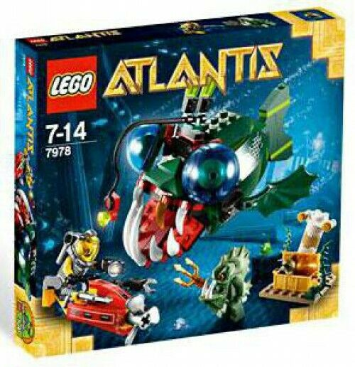 Lego Atlantis Angler ataque Set  7978