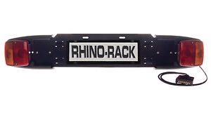 BIKE CARRIER NUMBER PLATE HOLDER WITH LIGHTS (BRAND NEW) ONLY $95 + POSTAGE