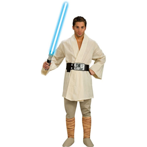 Star Wars Luke Skywalker Adult Men/'s Halloween Costume NEW
