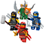 Lego-Ninjago-Minifiguren-Sets-Zane-Cole-Nya-Kai-Jay-GOLDEN-DRAGON-LLOYD-Minifigs Indexbild 23