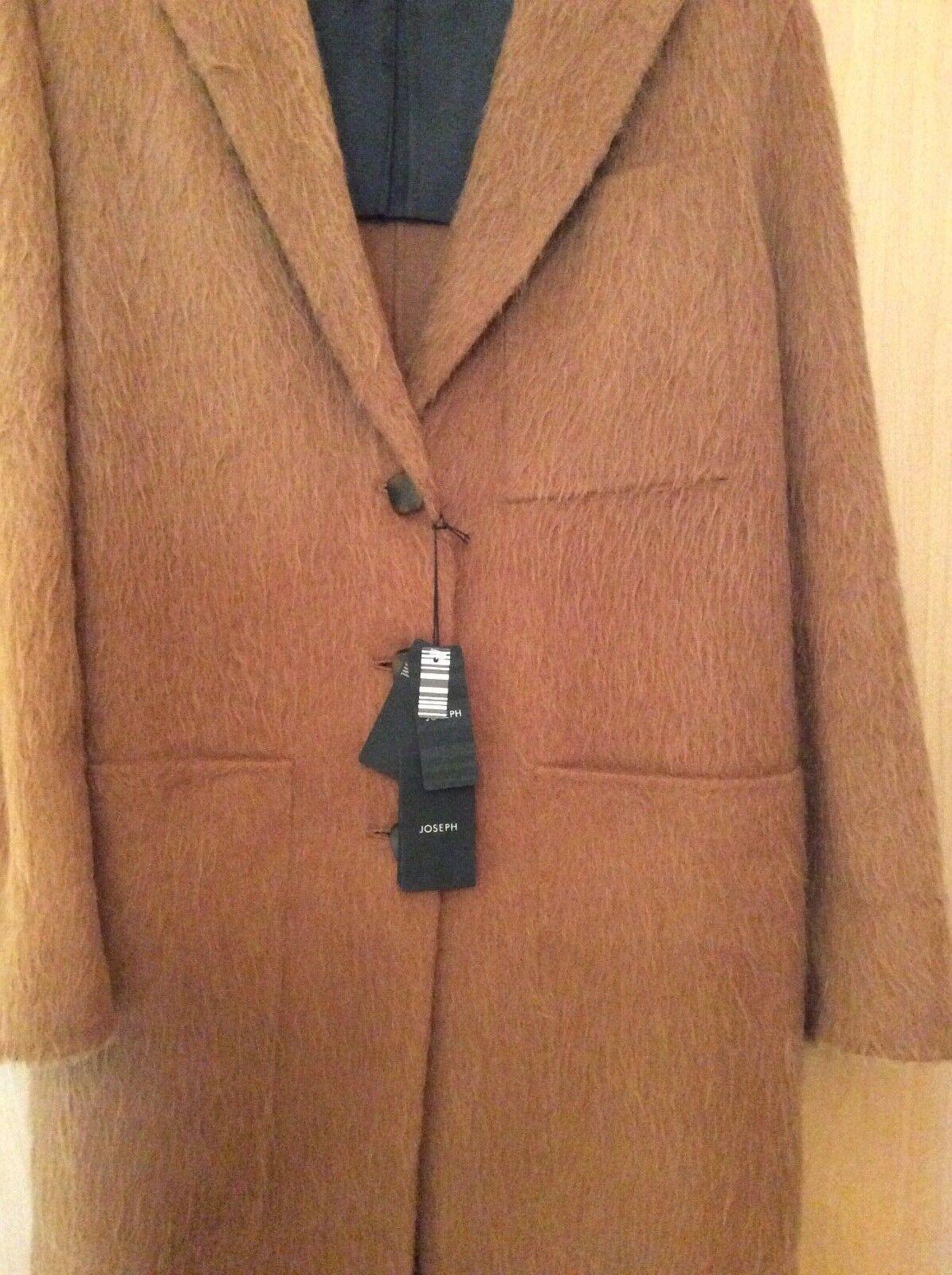 Joseph Jimi Double Double Double Alpaca coat in Toffee 20185e