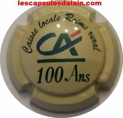 capsule de champagne commémorative emma 18 ans sur le contour
