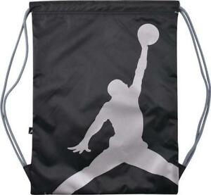 728b347245 Image is loading Nike-Air-Jordan-Jumpman-ISO-Gymsack-Drawstring-Bag-