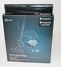 Genuine Hotpoint Pure Clean Bags,Hotpoint-Ariston Pack of 10,  C00298811