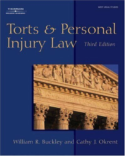 Torts & Personal Injury Law 1