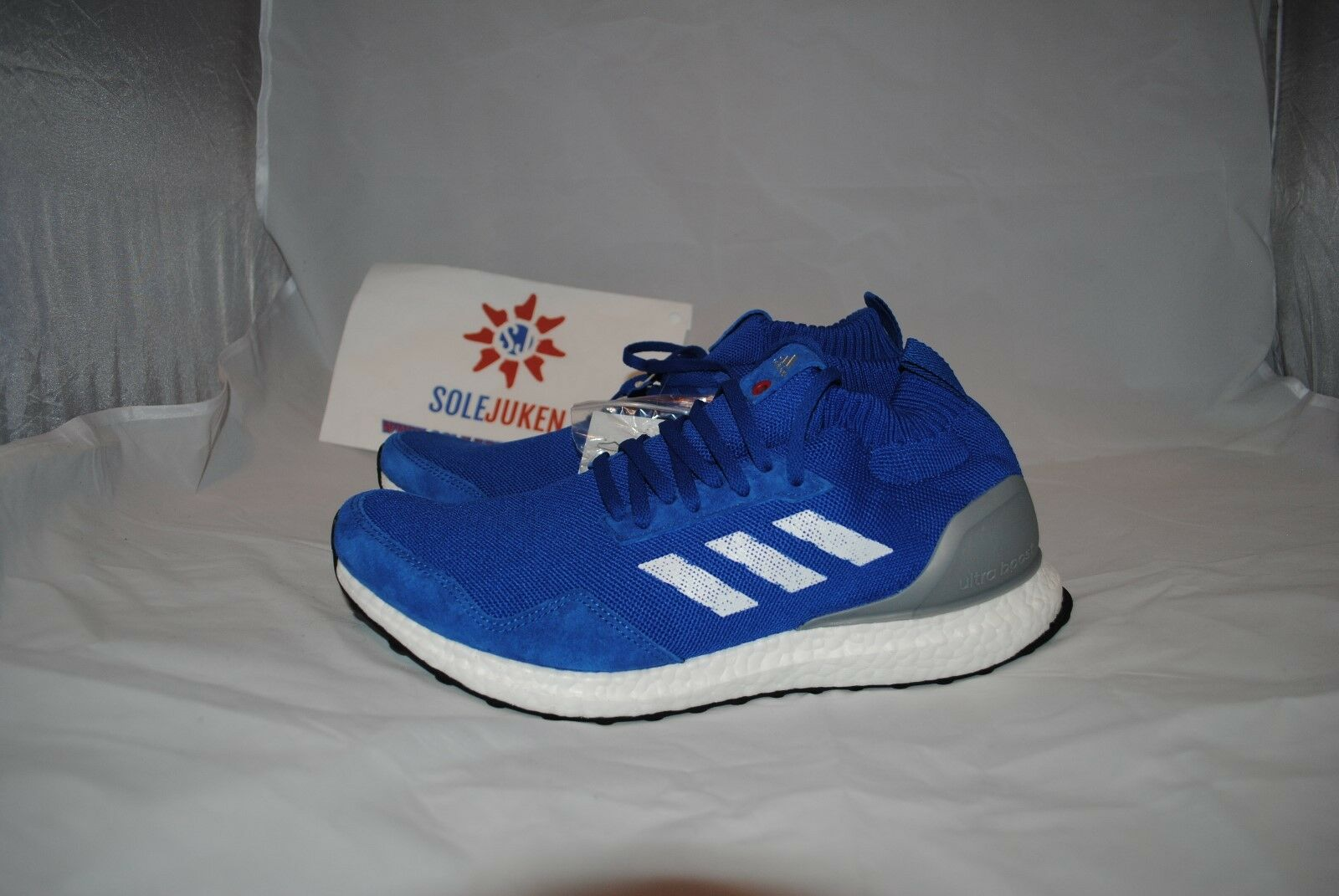 ADIDAS ULTRA BOOST MID RUN THRU TIME blueE BY5036 - SIZE 8-12 - Yeezy , HM