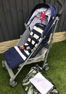 Maclaren Quest Stroller - Regency Stripe, New with Tags, Lightweight, From Birth