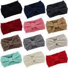Women's knit headband crochet winter warmer lady hairband Hair Band headwrap ES