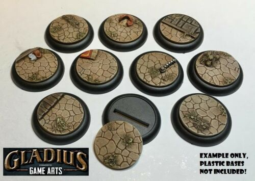 Resin Inserts for DS Bases BMG//Malifaux//Warmachine//Infinity Forgotten City