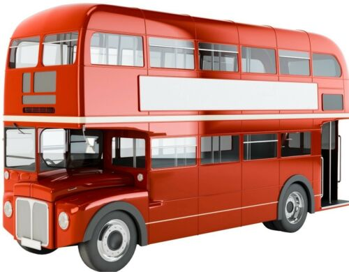 Bus London Bus Transport Sticker Decal Graphic Vinyl Label V1