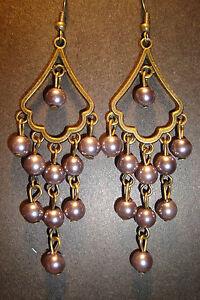 Large Long Indian~Asian Ethnic Boho Chandelier Earrings~ER152~uk ...