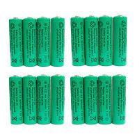 16 Pcs Aa 900mah Ni-cd Ni-cad 1.2v Rechargeable Battery Rc Solar Green Us Stock
