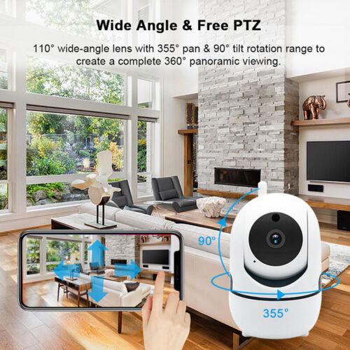 WIFI 720//1080P P2P Audio Outdoor IR Night Vision Wireless IP Camera Home SecurWL