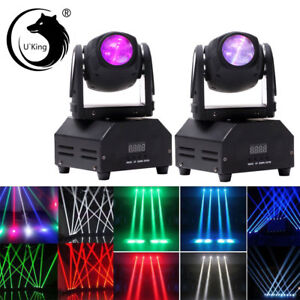 2PC-60W-RGBW-Mini-Beam-Spot-Moving-Head-Stage-Light-DMX-Bar-Party-DJ-Disco-Light