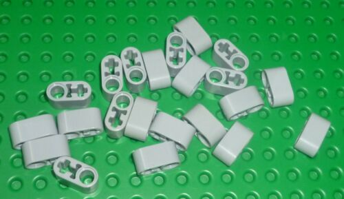 Liftarm 1 x 2 Thick with Axle Hole TECHNIC ZY286 L B GREY x 22 60483 LEGO