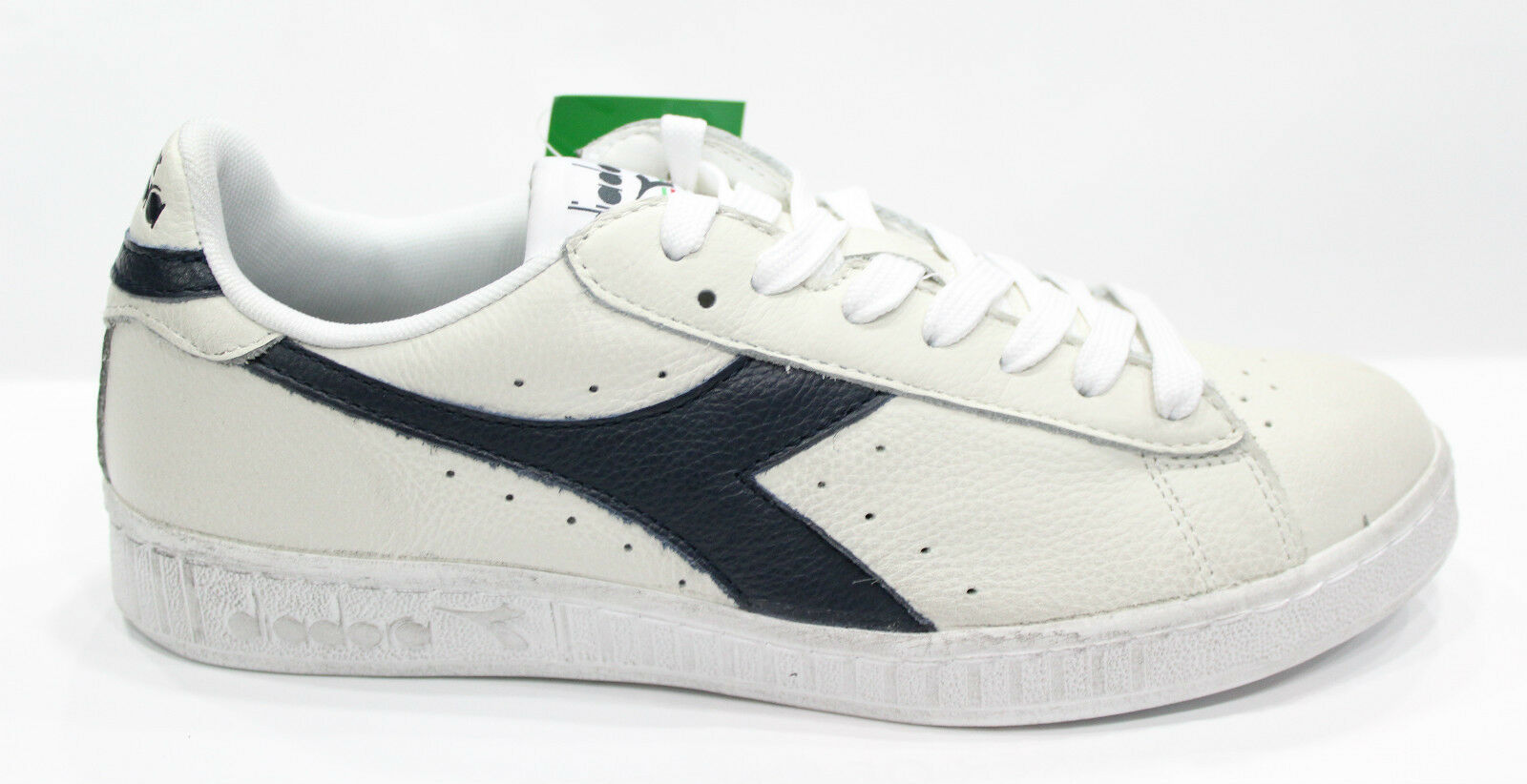 Scarpe Sneakers Diadora GAME L Shoes Sneakers Scarpe basse Unisex White Blu tomaia in pelle aa21ae