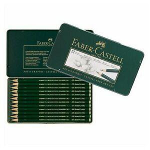 FABER-CASTELL-USA-119065-CASTELL-9000-GRAPHITE-PENCIL-ART-12PC-TIN-SET