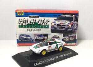 CM/'s 1//64 Rally Car Collection Special Colour Edition Lancia Stratos HF Yellow