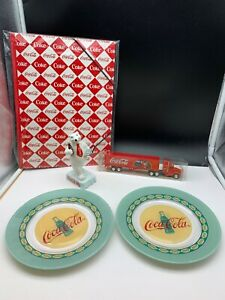 Coca-Cola-Collector-Convolute-5-Teile-Very-Good-Condition