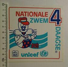 Aufkleber/Sticker: nationale zwem 4 daagse UNICEF (090716171)