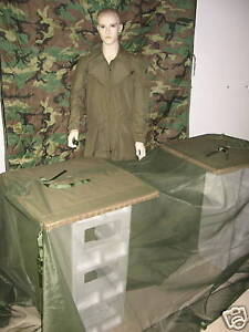NEW-US-ARMY-USMC-MOSQUITO-NET-FLY-BLIND-TENT-SHELTER