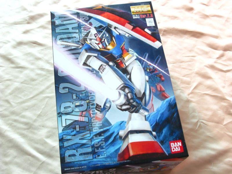 Bandai 1  100 MG 111 RX -78 -2 Gundam Ver.2.0