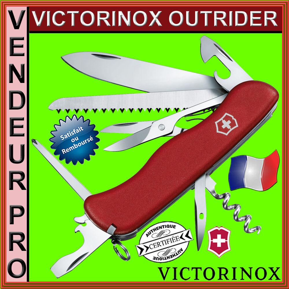 VERITABLE VERITABLE VERITABLE COUTEAU SUISSE VICTORINOX OUTRIDER 14 OUTILS 0.9023 NEUF PRO FRANCAIS 9ff598