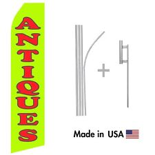 Antiques Econo Flag 16ft Advertising Swooper Flag Kit With Hardware