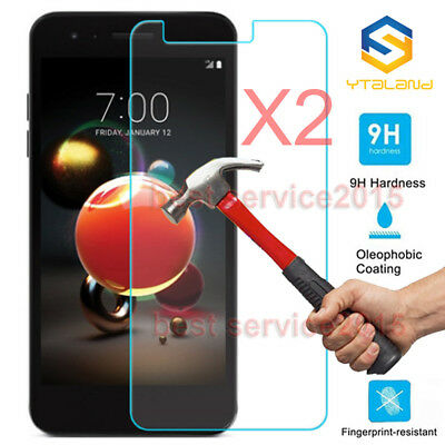 2Pcs 9H Tempered Glass Screen Protector For LG Aristo 2 X210 /  LG Aristo 2 Plus