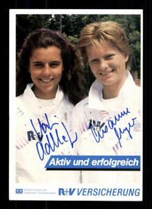 Susanne Meyer und Katrin Adlkofer Autogrammkarte Original Signiert Segeln