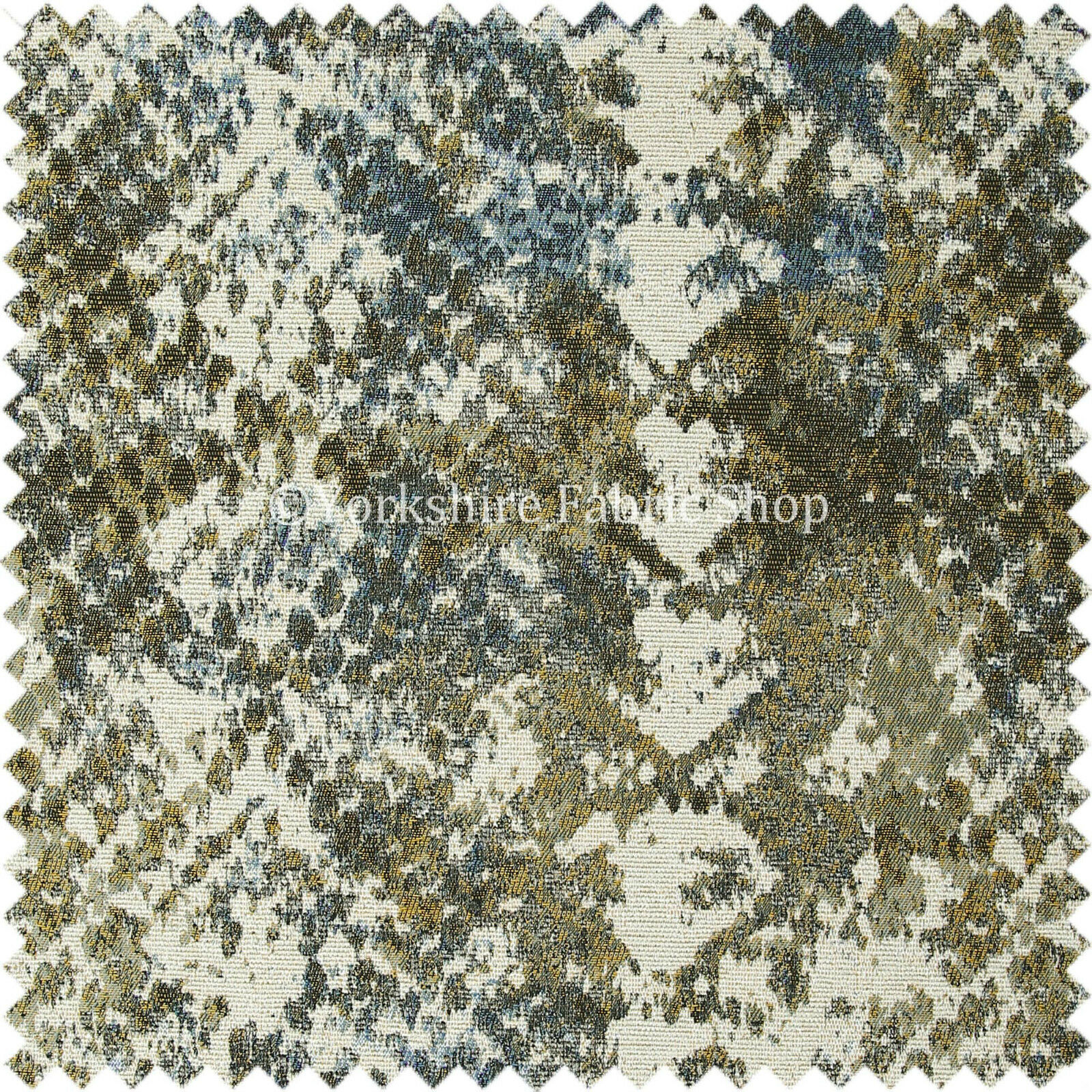 Abstract Camouflage Design Pattern Beige Blue Green