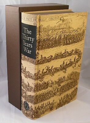 Folio Society The Thirty Years War C.V. Wedgwood Warfare Military Slipcase