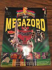 POWER Rangers Megazord Deluxe Set Originale 1993 CON BOX 100% COMPLETO TOY RARE