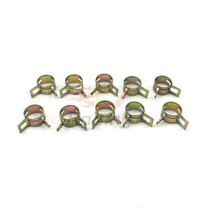 10-PCS-8mm-5-16-034-Pinch-Spring-Clips-Fuel-Silicone-Vacuum-Hose-Clamps-Kit