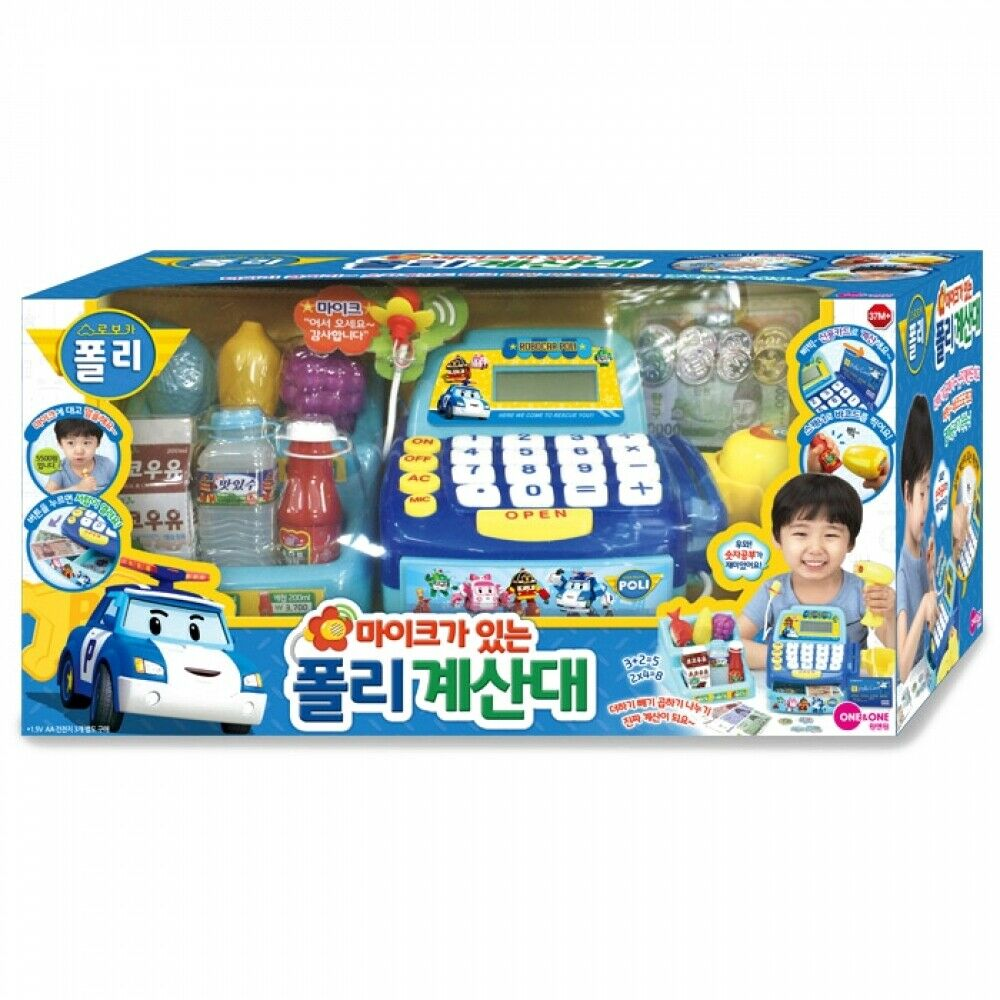 One & One Poli Counter with a Microphone Toy