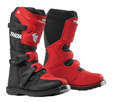 Thor MX Motocross Youth MINI Blitz XP Boots Black Choose Size