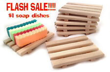 FLASH SALE!! 20 for $20 - 20 handcrafted in the USA wood soap dishes $1 each