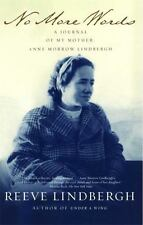 No More Words: A Journal of My Mother, Anne Morrow Lindbergh by Lindbergh, Reeve