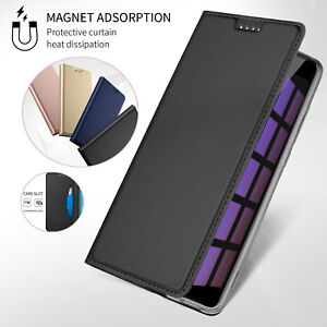 For-Xiaomi-Mi-Max-3-Mix-2S-Note-3-Leather-Magnetic-Flip-Wallet-Card-Case-Cover