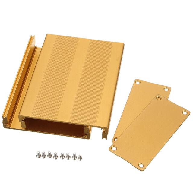Aluminiumgehäuse Alubox Leergehäuse Alugehäuse Metallgehäuse 100x76x35mm Neu B53